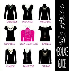 Other - 🌸NECKLACE SIZE CHART